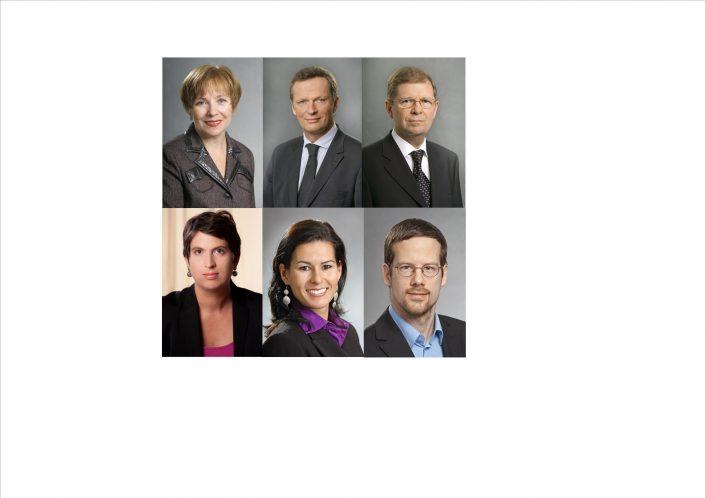 Porträtfotos der Assoziierten Mitglieder des Kompetenzzentrums Schwarzmeerregion