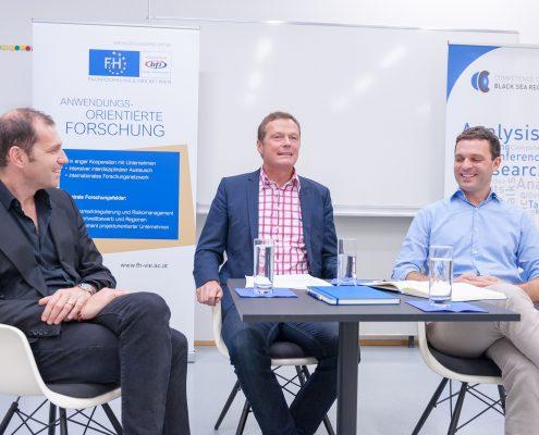 Business Talk Black Sea Region Türkei mit Andreas Breinbauer Johannes Leitner Cengiz Günay