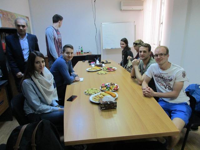 Studierende besuchen im Wahlpflichtmodul Black Sea Region Yerevan