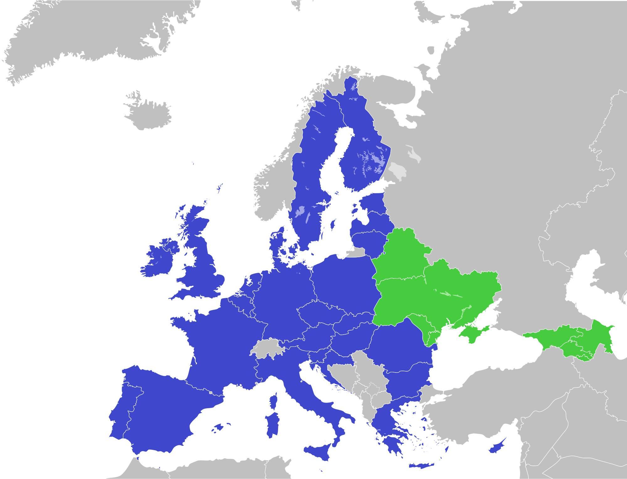 map europe eastern europe